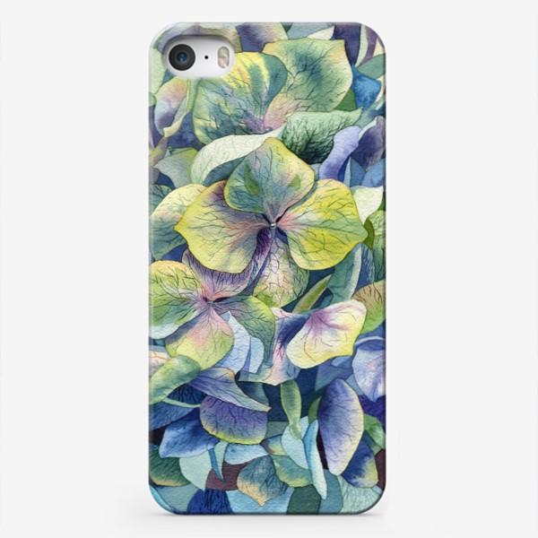 Чехол iPhone «Лесная гортензия»