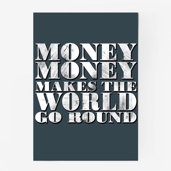 Постер «money»