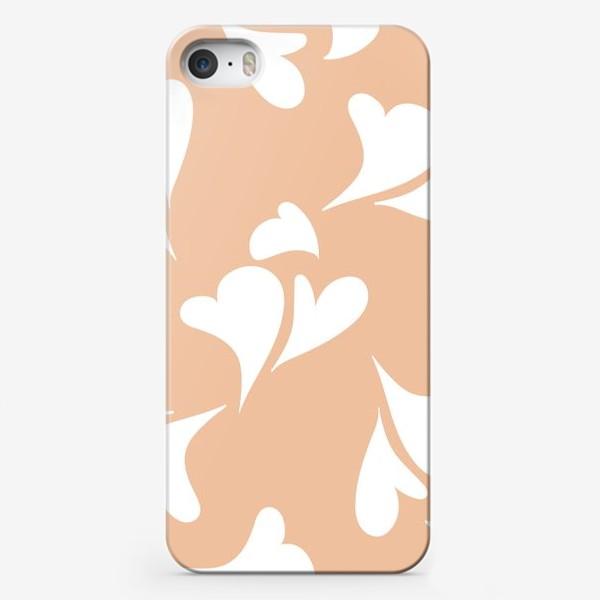 Чехол iPhone «Hearts Peachy »