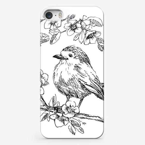 Чехол iPhone «Птичка»