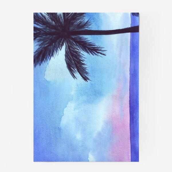 Постер «мечты о море»