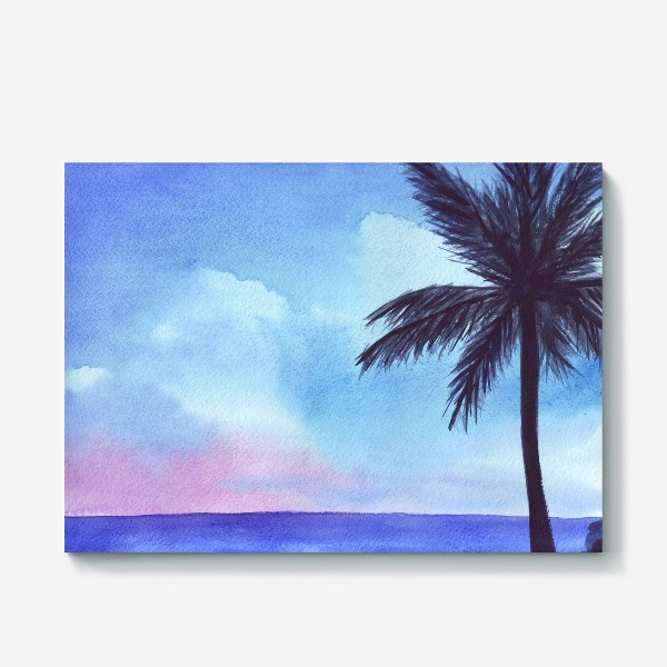 Холст «мечты о море»