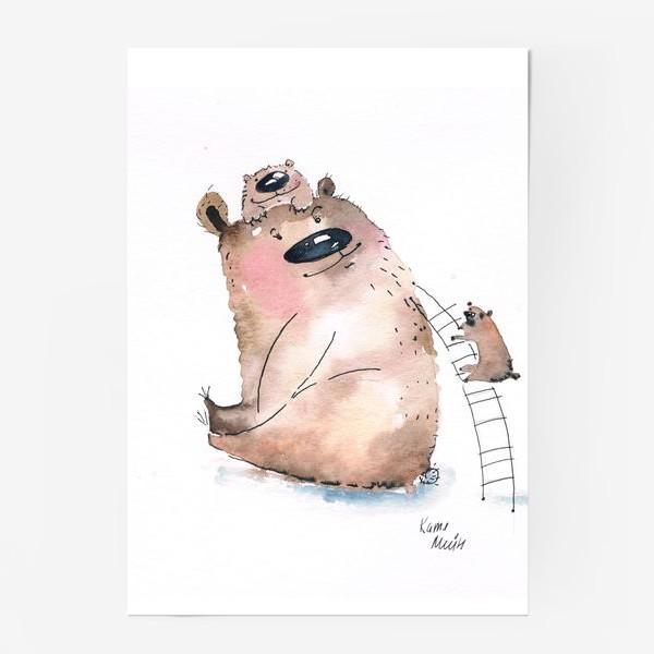 Постер «Мама медведь»