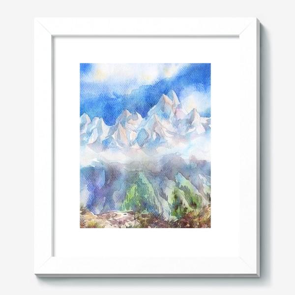 Картина «Горы кавказа. Чегет»