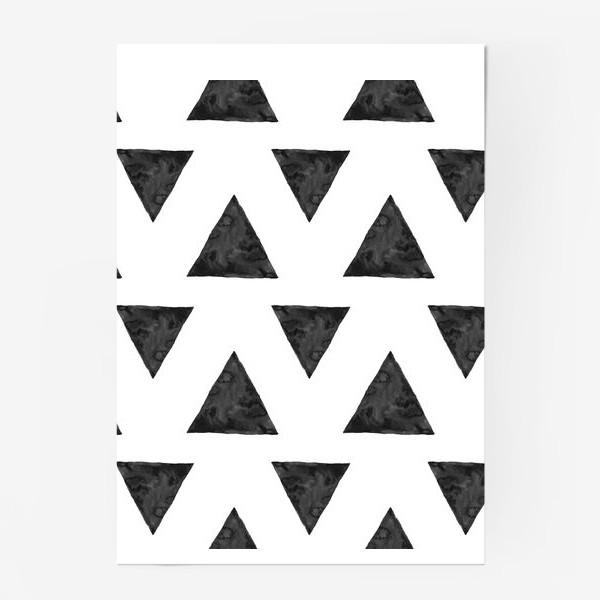 Постер «Pattern Triangles »