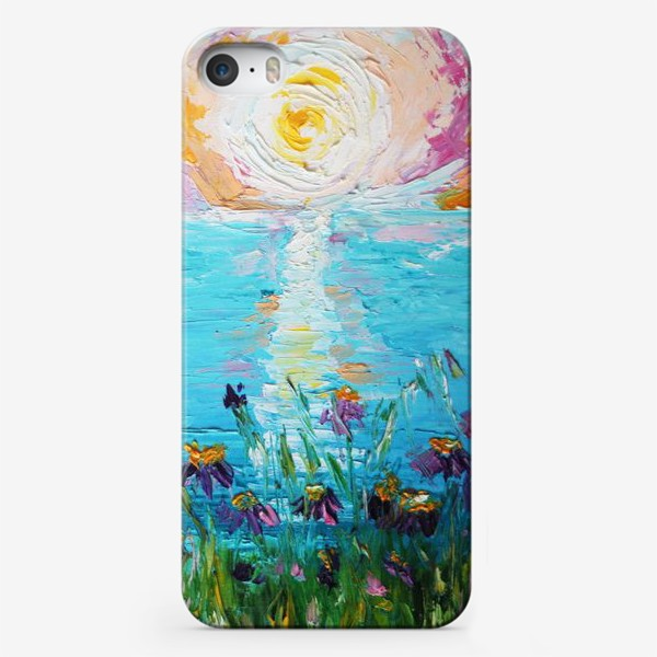 Чехол iPhone «Мое в цветах»