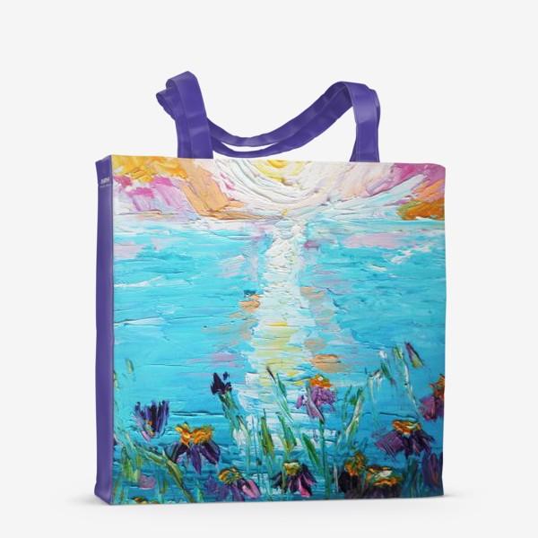 Сумка-шоппер «Мое в цветах»