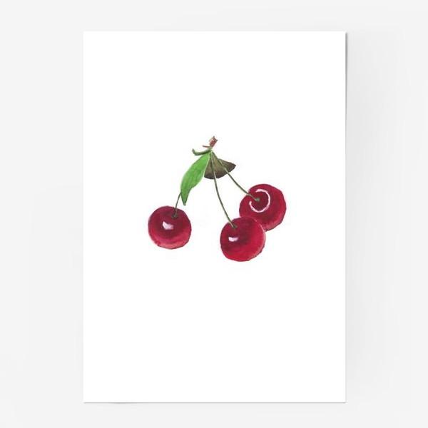 Постер «вишенки»
