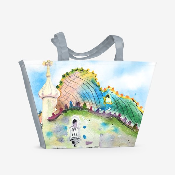 Пляжная сумка «Барселона»