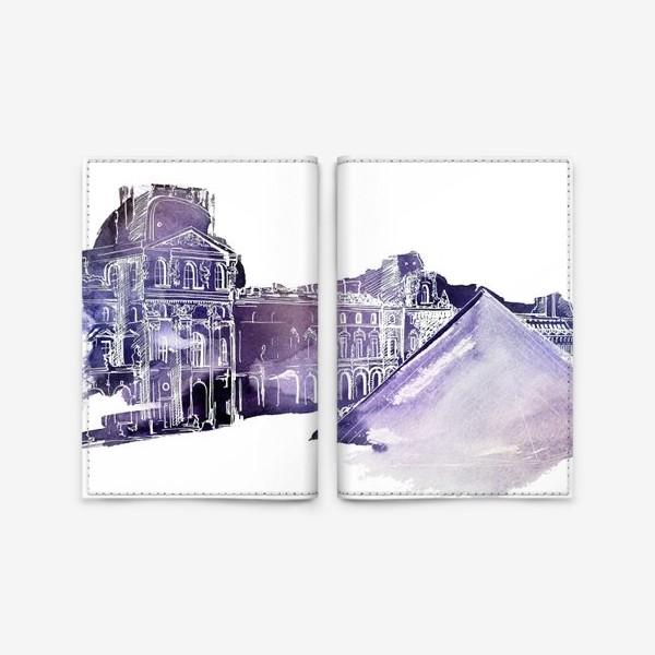 Обложка для паспорта «Paris»