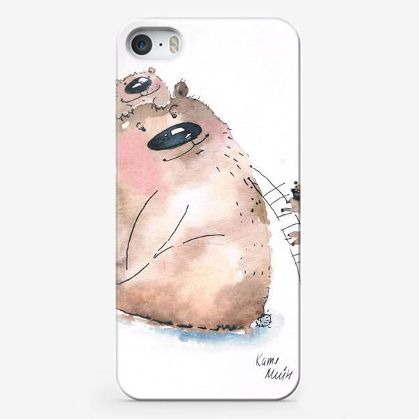Чехол iPhone «Мама медведь»