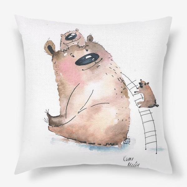 Подушка «Мама медведь»