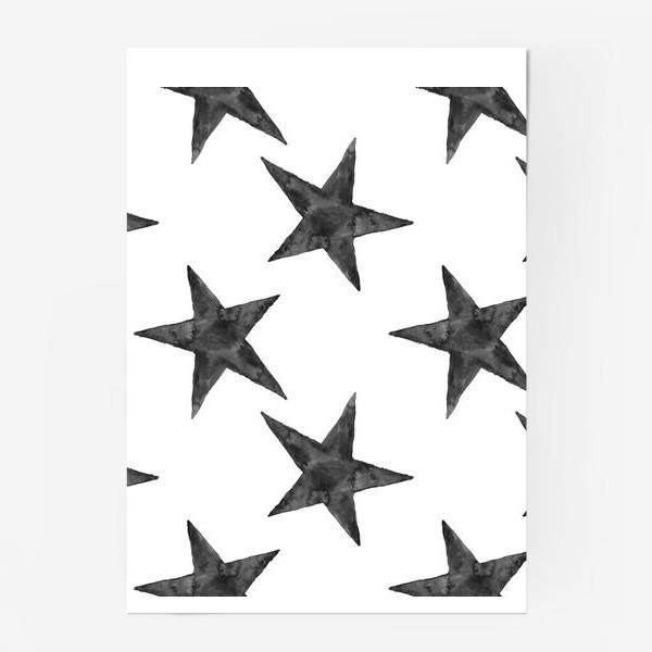 Постер «Stars Pattern»