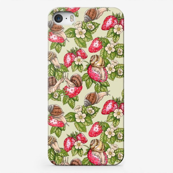 Чехол iPhone «Счастливые улитки»
