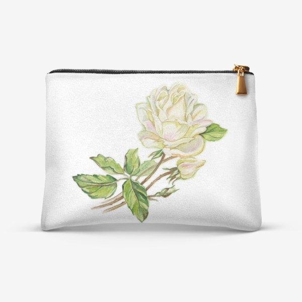 Косметичка «Белая роза»