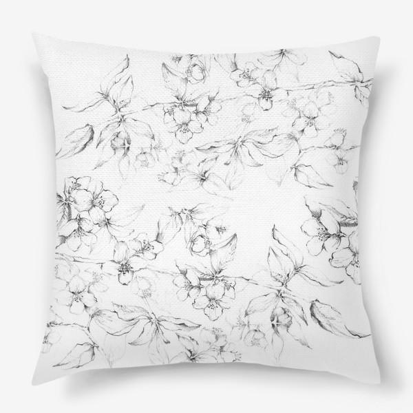 Подушка «Apple blossom»