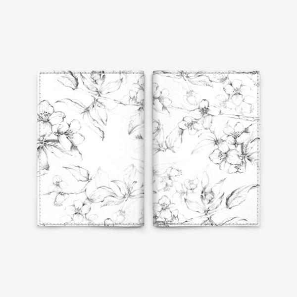 Обложка для паспорта «Apple blossom»