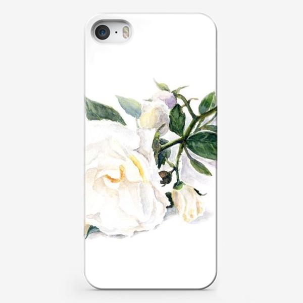 Чехол iPhone «Нежнее нежного. Роза.»