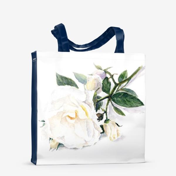 Сумка-шоппер «Нежнее нежного. Роза.»