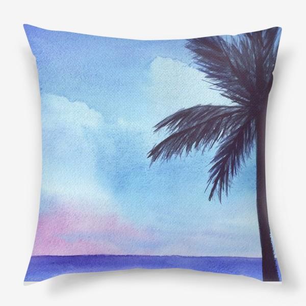 Подушка «мечты о море»