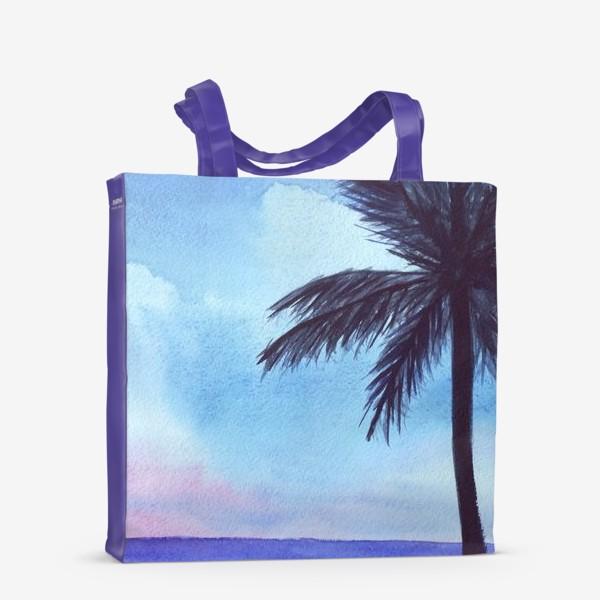 Сумка-шоппер «мечты о море»