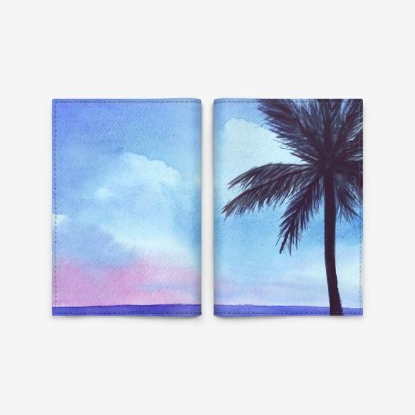 Обложка для паспорта «мечты о море»