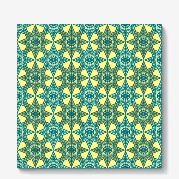 Холст «Марокканская плитка»