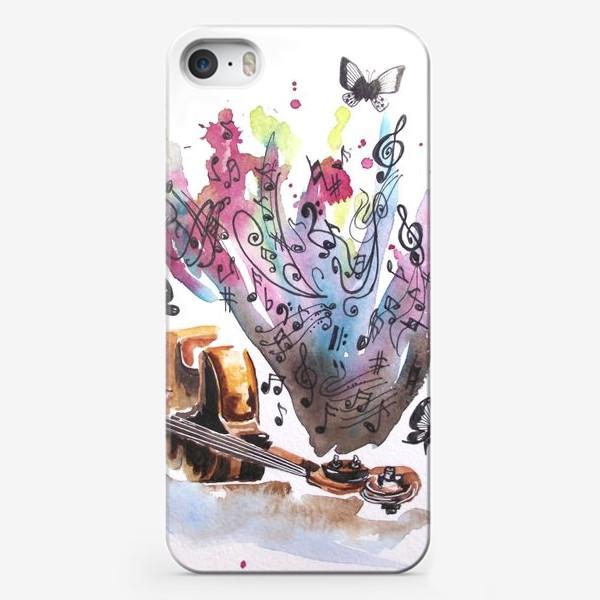 Чехол iPhone «Душа поет»