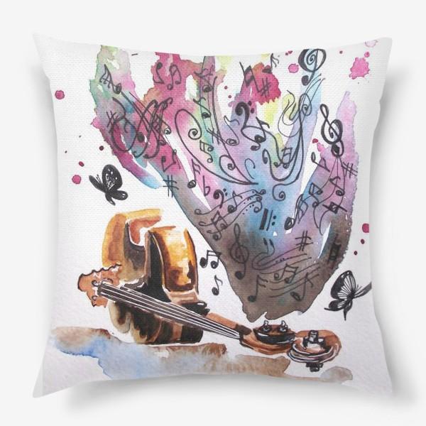 Подушка «Душа поет»