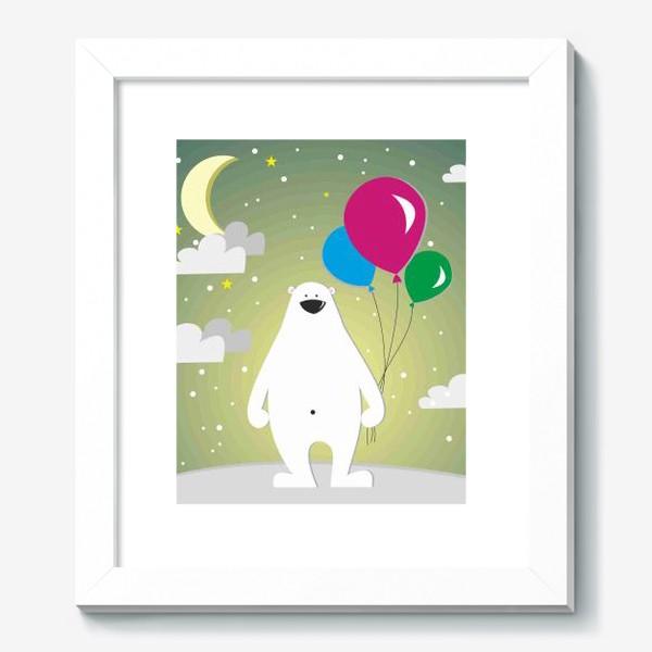 Картина «Полярный мишка»
