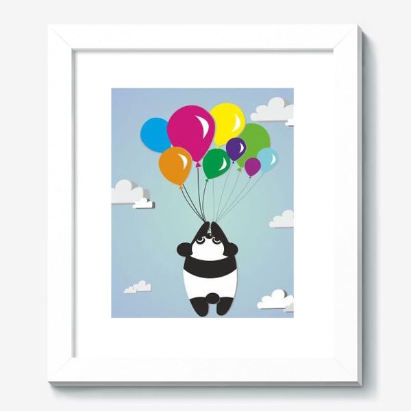 Картина «Летящая панда»