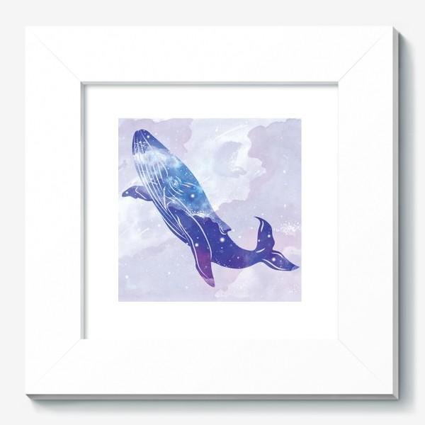 Картина «Космический кит»
