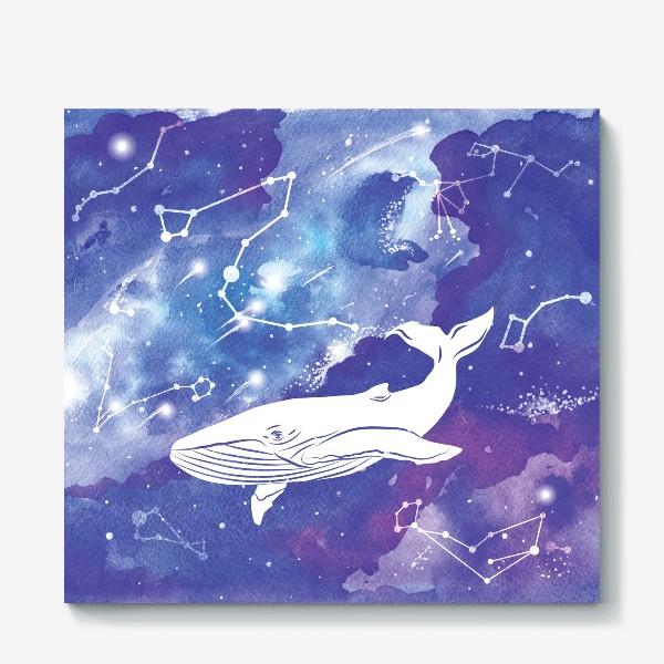 Холст «Небесный кит»