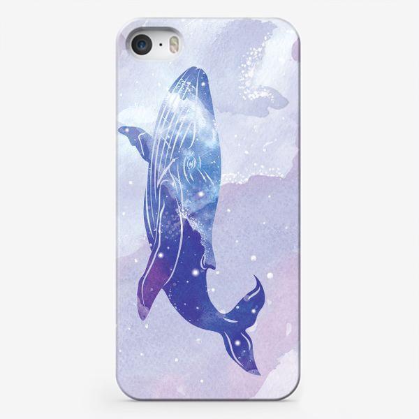 Чехол iPhone «Кит космический»
