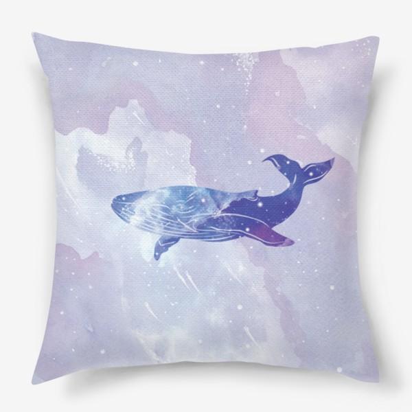 Подушка «Кит космический»