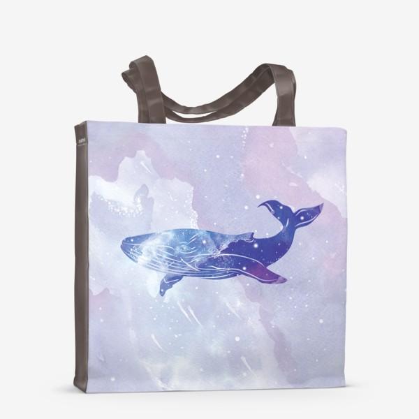 Сумка-шоппер «Кит космический»