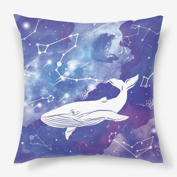 Подушка «Небесный кит»