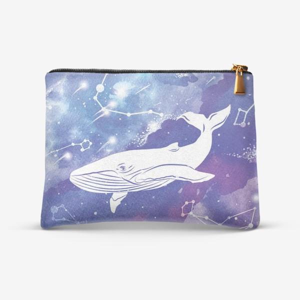 Косметичка «Небесный кит»