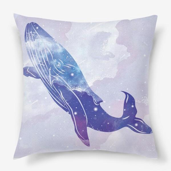 Подушка «Космический кит»