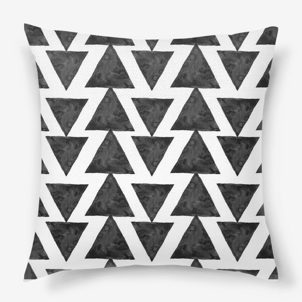 Подушка «Triangles Pattern»