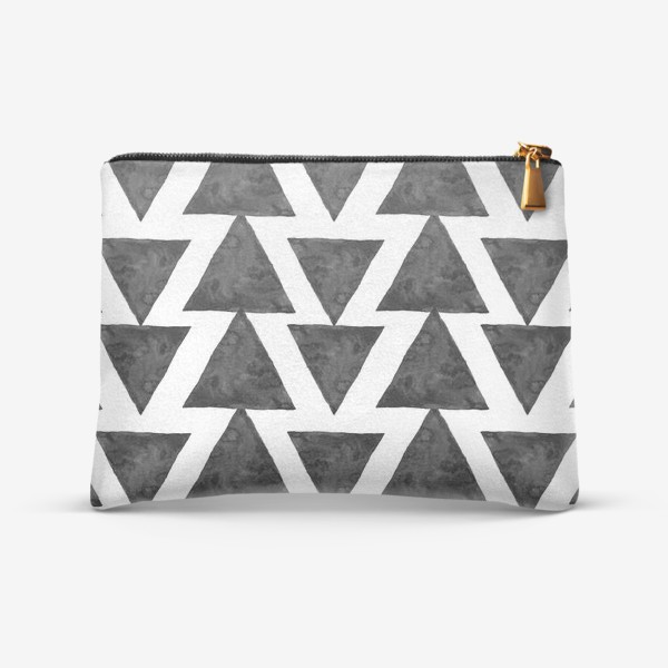 Косметичка «Triangles Pattern»