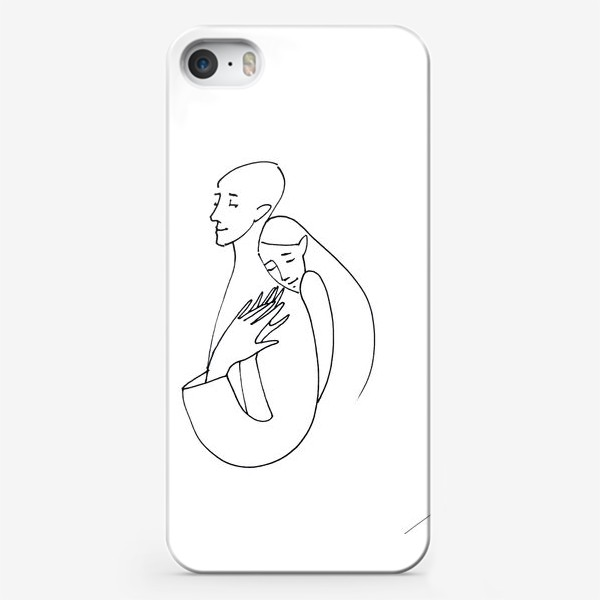 Чехол iPhone «line»