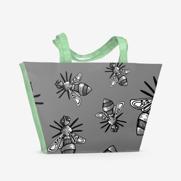 Пляжная сумка «Bees»