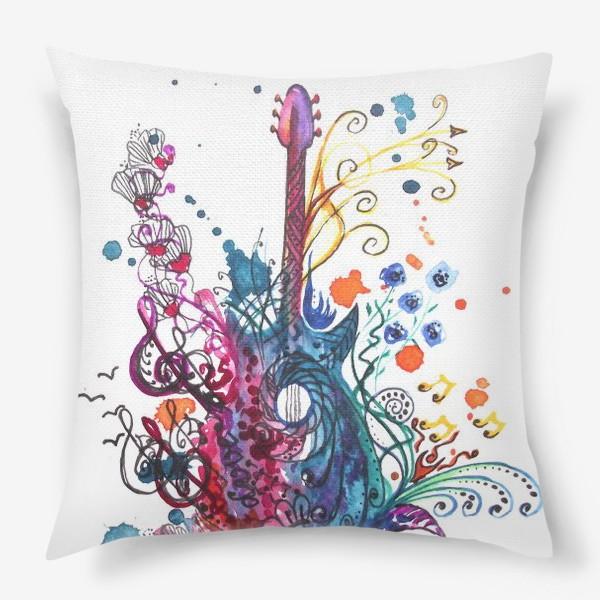 Подушка «Музыкальная весна»
