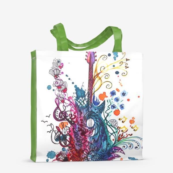 Сумка-шоппер «Музыкальная весна»