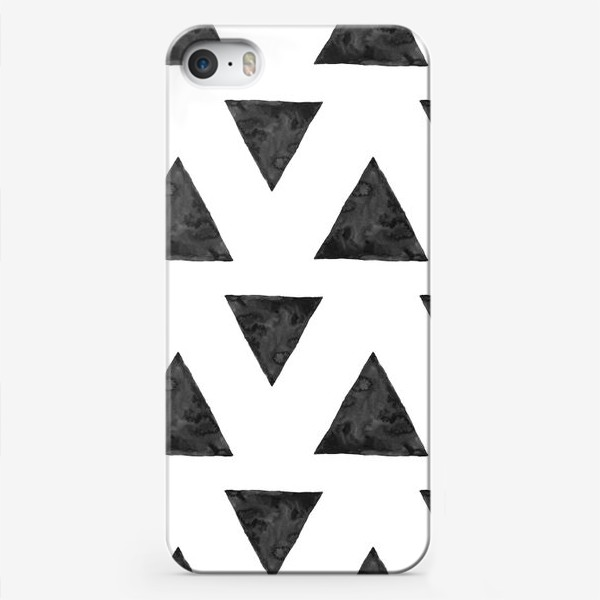 Чехол iPhone «Pattern Triangles »