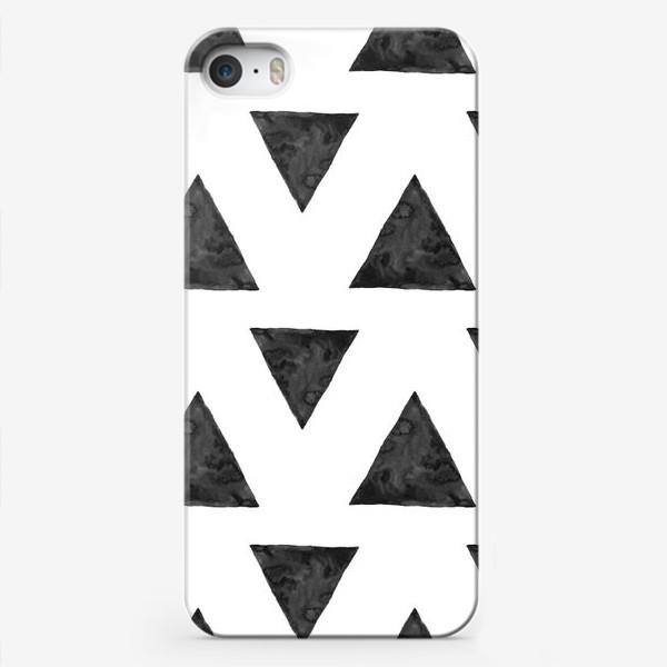 Чехол iPhone «Pattern Triangles »
