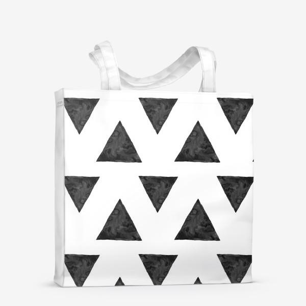 Сумка-шоппер «Pattern Triangles »