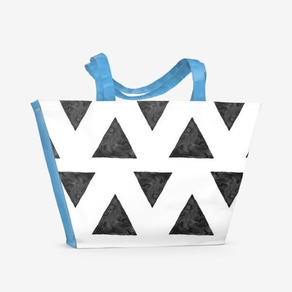 Пляжная сумка «Pattern Triangles »