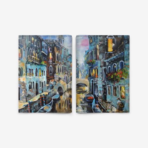 Обложка для паспорта «венеция»
